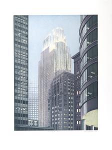 Minneapolis Dusk by Richard Haas