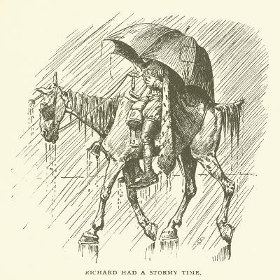 Richard Had a Stormy Time--Giclee Print