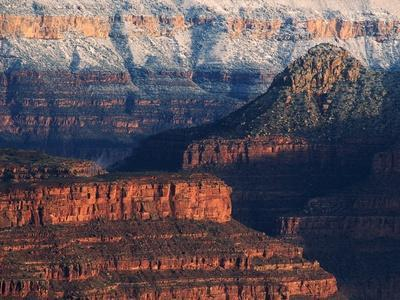 Walls of the Grand Canyon