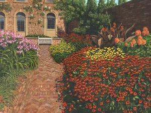 Barrington Court Gardens Somerset by Richard Harpum