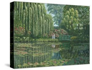 Giverny Reflections by Richard Harpum