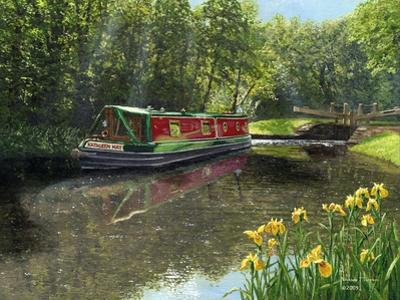 Kathleen May Chesterfield Canal Notts by Richard Harpum