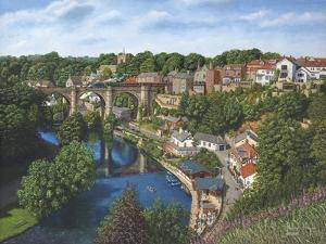 Knaresborough Yorkshire by Richard Harpum