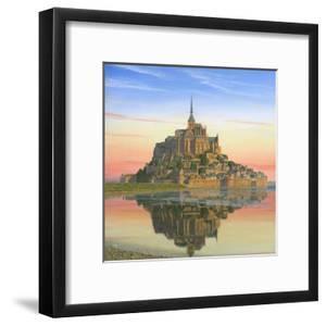 Mont Saint Michel Morn by Richard Harpum