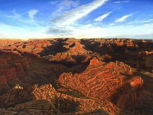 Morning Glory, the Grand Canyon from South Kaibab Trail by Richard Harpum