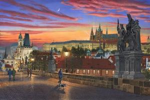 Prague at Dusk by Richard Harpum