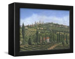 San Gimignano Tuscany by Richard Harpum