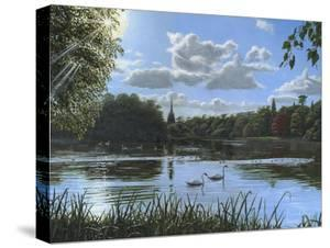 September Afternoon in Clumber Park by Richard Harpum
