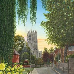 Summer Morning St Mary's Church Tickhill Yorkshire by Richard Harpum