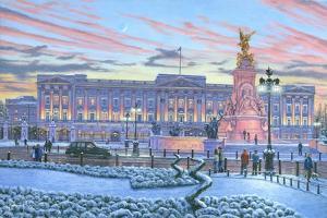 Winter Lights Buckingham Palace by Richard Harpum