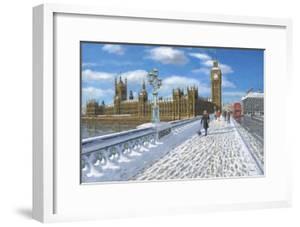 Winter Sun - Houses of Parliament London by Richard Harpum