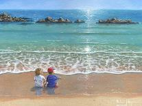 The Red Boat Polperro Cornwall-Richard Harpum-Art Print