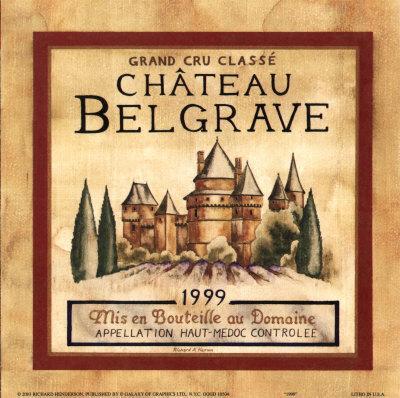 Chateau Belgrave, 1999
