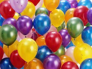 Birthday Balloons by Richard Hutchings