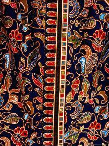 Batik Detail, Penang, Malaysia by Richard I'Anson
