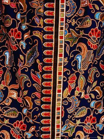 Batik Detail, Penang, Malaysia