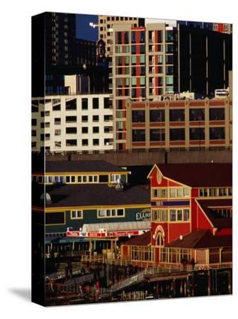 Buildings on Pier 55, Seattle, USA