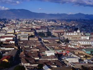 Cityscape of Guatemala's Second Largest City, Quetzaltenango, Guatemala by Richard I'Anson