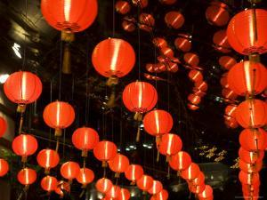 Decorative Lanterns for Chinese New Year by Richard I'Anson