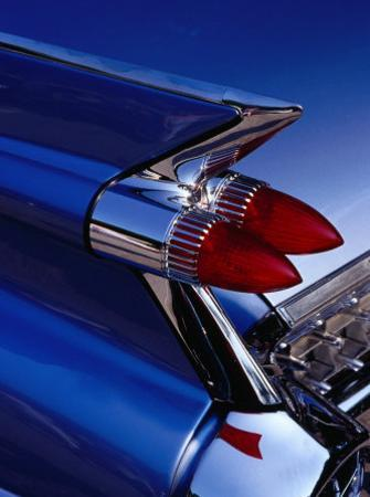 Detail of An American Cadillac, Eze, France