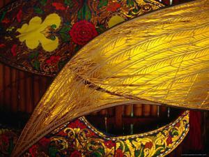 Detail of Traditional Kites, Kota Bharu, Kelantan, Malaysia by Richard I'Anson