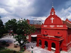 Exterior Christ Church, Melaka, Malaysia by Richard I'Anson