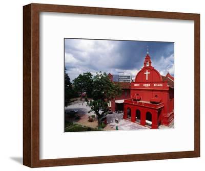 Exterior Christ Church, Melaka, Malaysia