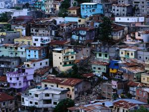 Houses in Las Penas District, Guayaquil, Ecuador by Richard I'Anson