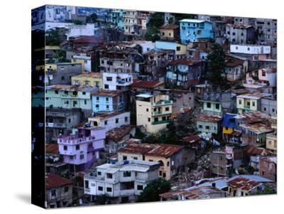 Houses in Las Penas District, Guayaquil, Ecuador
