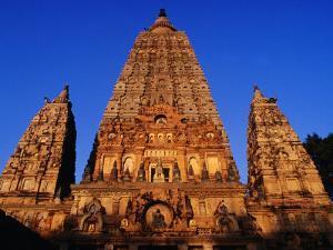 Mahabodhi Temple, Bodhgaya, Bihar, India by Richard I'Anson