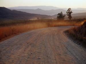 Road Between Lower Loteni and Himeville in the Southern Drakensberg Ranges, South Africa by Richard I'Anson