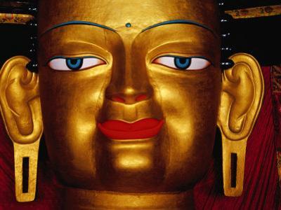 Shakyamuni Buddha Statue at Shey Monastery, Ladakh, India