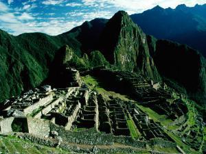 The Ancient Inca City of Machu Picchu, Machu Picchu, Cuzco, Peru by Richard I'Anson