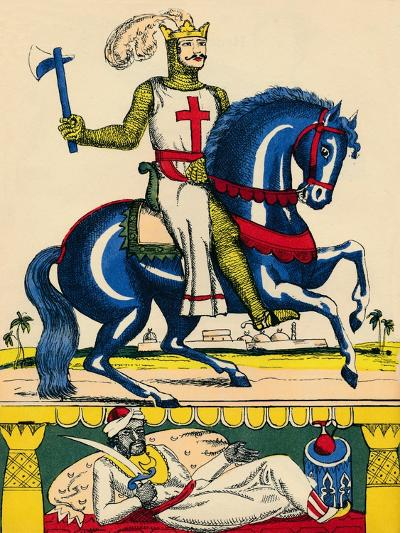 Richard I, King of England from 1189, (1932)-Rosalind Thornycroft-Giclee Print