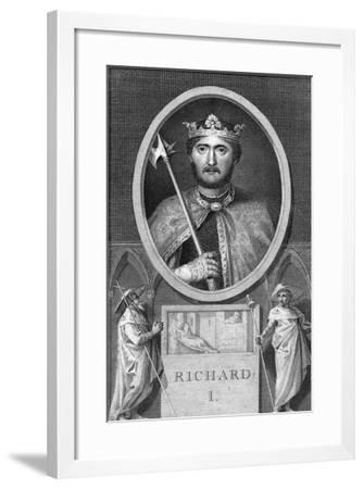 Richard I King of England-Thornthwaite Fitzgerald-Framed Giclee Print