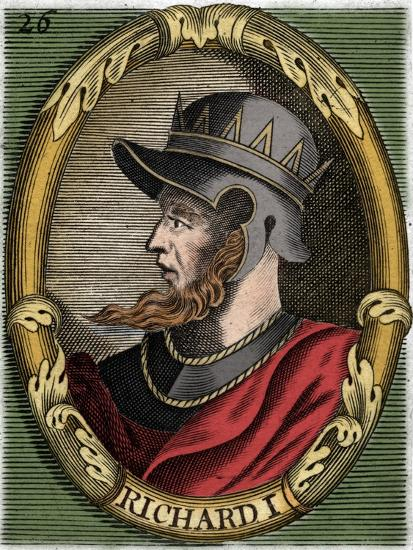 Richard I, King of England-Unknown-Giclee Print