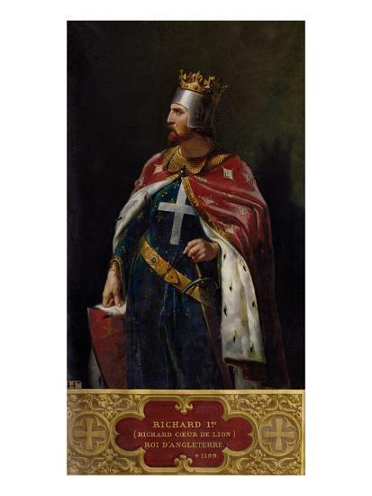 Richard I the Lionheart (1157-1199) King of England, 1841-Merry Joseph Blondel-Giclee Print