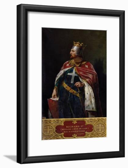 Richard I the Lionheart (1157-1199) King of England, 1841-Merry Joseph Blondel-Framed Giclee Print
