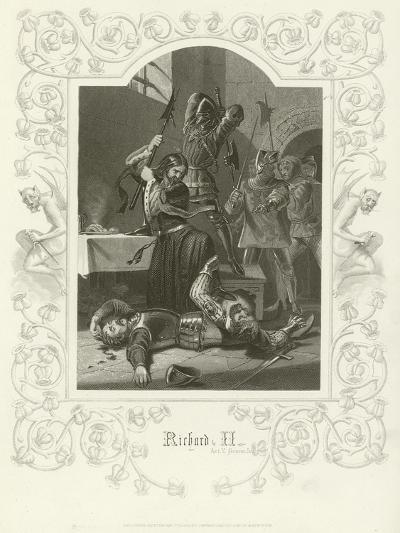 Richard II, Act V, Scene V-Joseph Kenny Meadows-Giclee Print