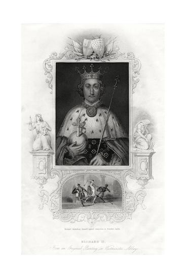 Richard II, King of England, 1860--Giclee Print