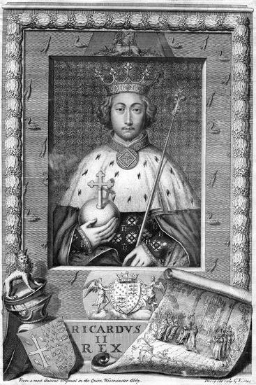 Richard II, King of England-George Vertue-Giclee Print