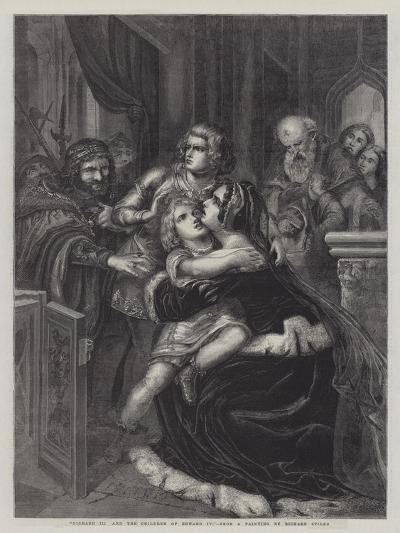 Richard III and the Children of Edward IV--Giclee Print