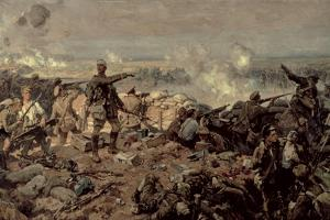 The Second Battle of Ypres, 1917 by Richard Jack