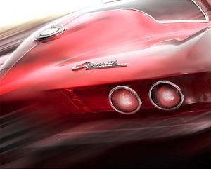 Corvette El Diablo by Richard James