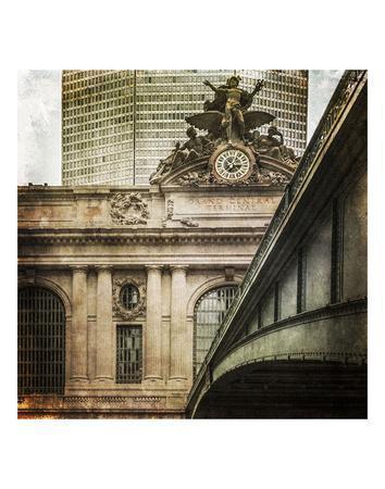 Grand Central Station Sun Beams 1934 Kurt Hulton Cityscape Art Print 16x20