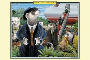 A Business of Ferrets by Richard Kelly