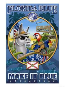 Florida Blue, Democraticville by Richard Kelly