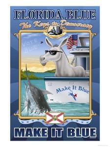 Florida Blue, The Keys to Democracy by Richard Kelly