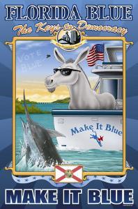 Florida Blue, The Keys to Democracy by Richard Kelly