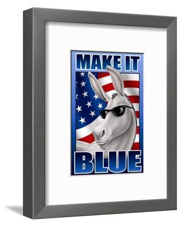 Make It Blue the Mascot